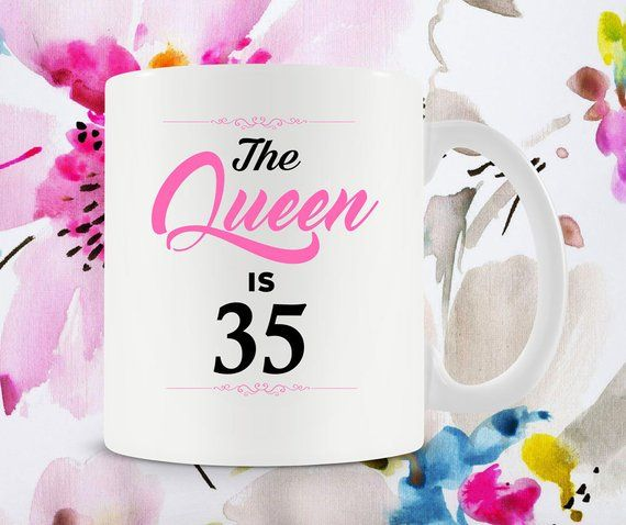 35th Birthday Gift Ideas For Women Mug Bday Present Her Coffee Cup B Day