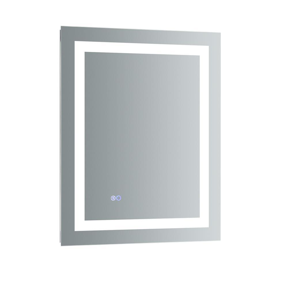 Fresca Santo 24 In W X 30 In H Frameless Single Bathroom Mirror