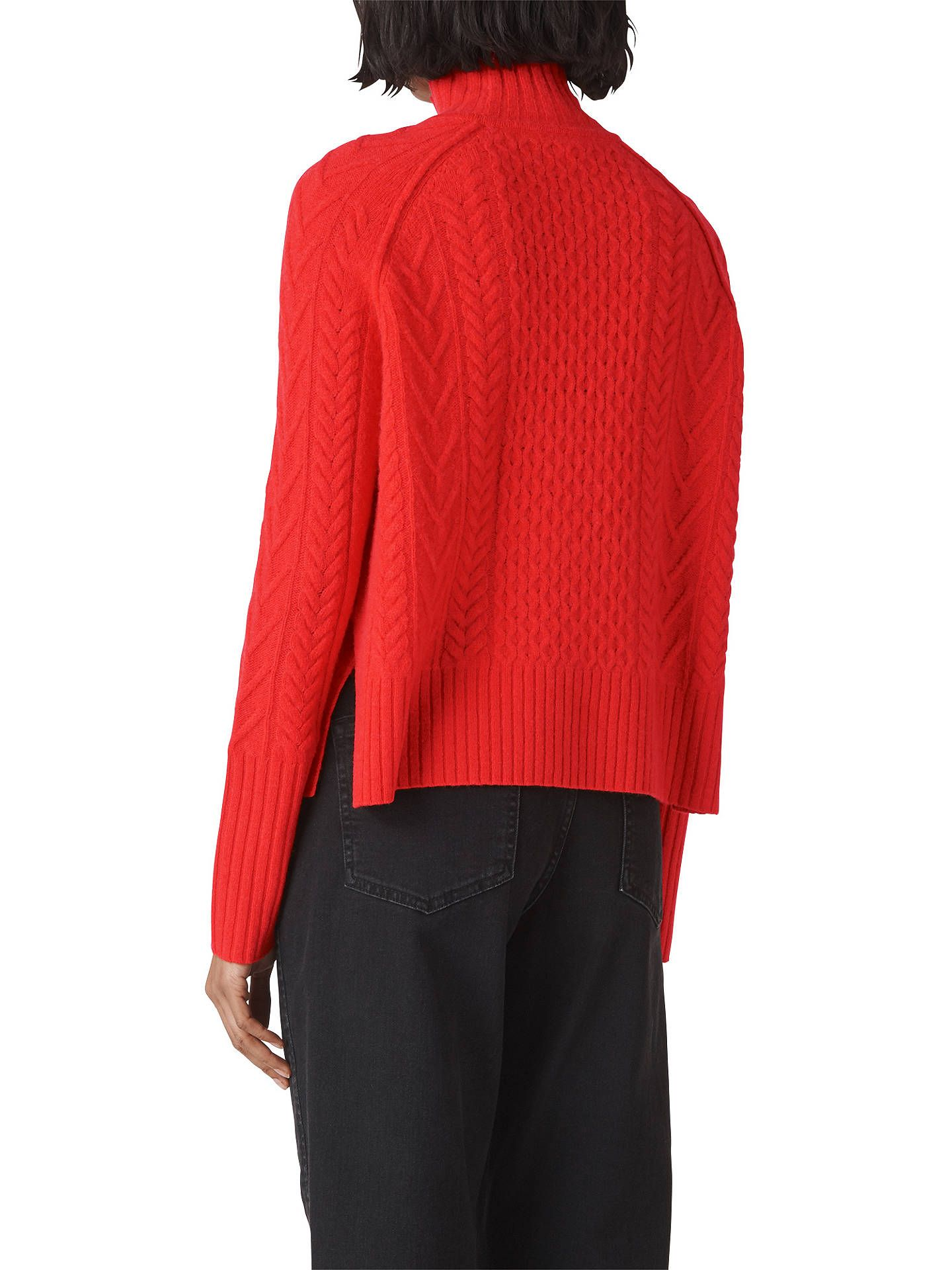 e1b866d606bcc BuyWhistles Cable Knit Funnel Neck Jumper