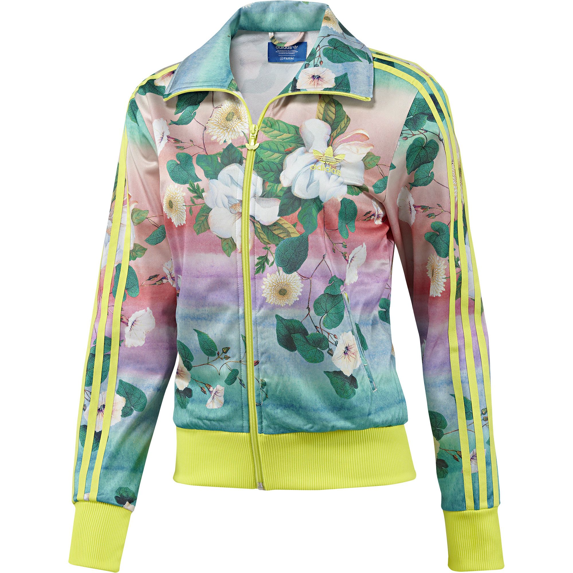 6110f4c9a1e544 adidas Campera Originals Floralina FARM Mujer | adidas Argentina ...