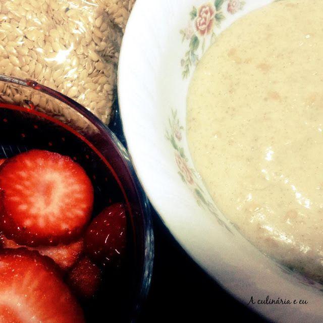 A Culinária e Eu ...: Papa de Aveia