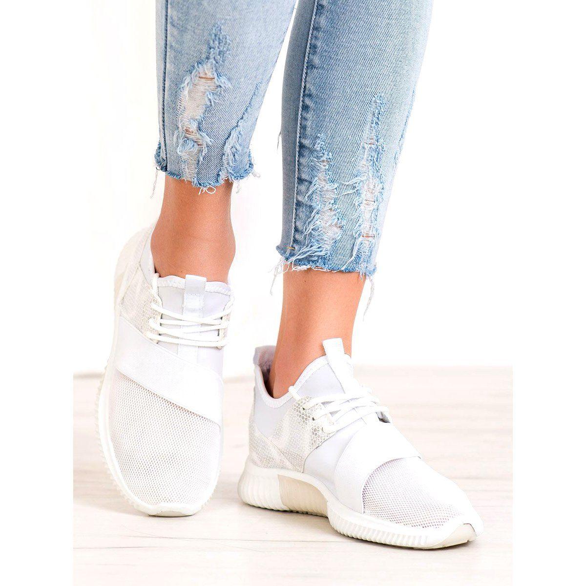 Shelovet Buty Sportowe Z Gumka Biale Adidas Tubular Adidas Sneakers Sneakers