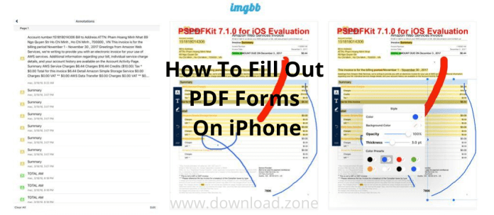 Don T Worry If You Are In Urgent Need To Fill Out A Pdf Form On The Iphone Especially When There Is Limited Access To The Work St In 2020 Little App