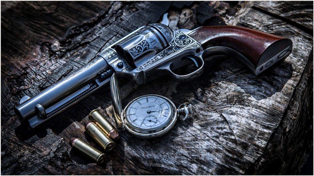 Pistol Revolver 4K Wallpaper pistol revolver 4k