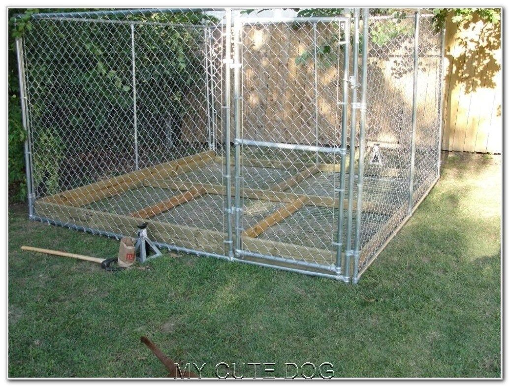 111 Best Outdoor Dog Kennel Ideas (With images) | Dog ...