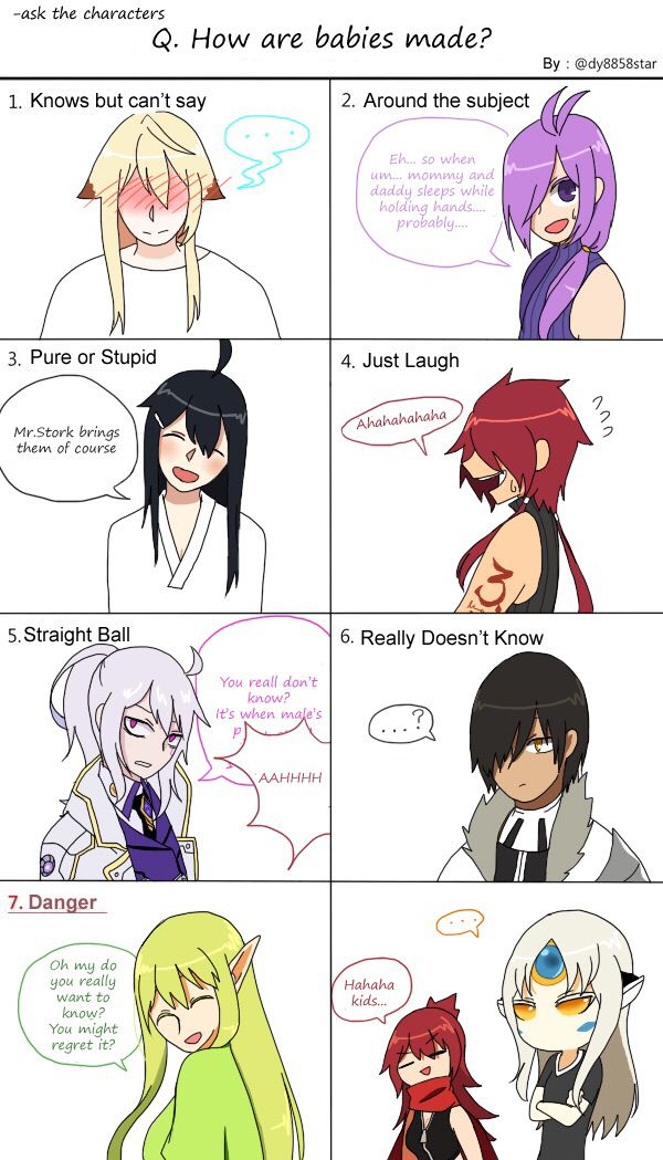 Elsword Comic<<<When they know how babies are made XD No chill Add XDD