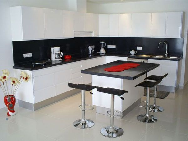 Gorgeous Black \ White Kitchen Designs For Every Modern Home