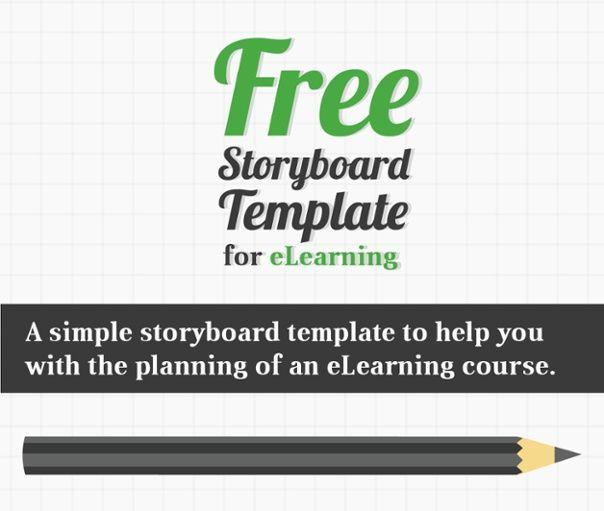 Free elearning storyboard template helpful elearning resources free elearning storyboard template saigontimesfo