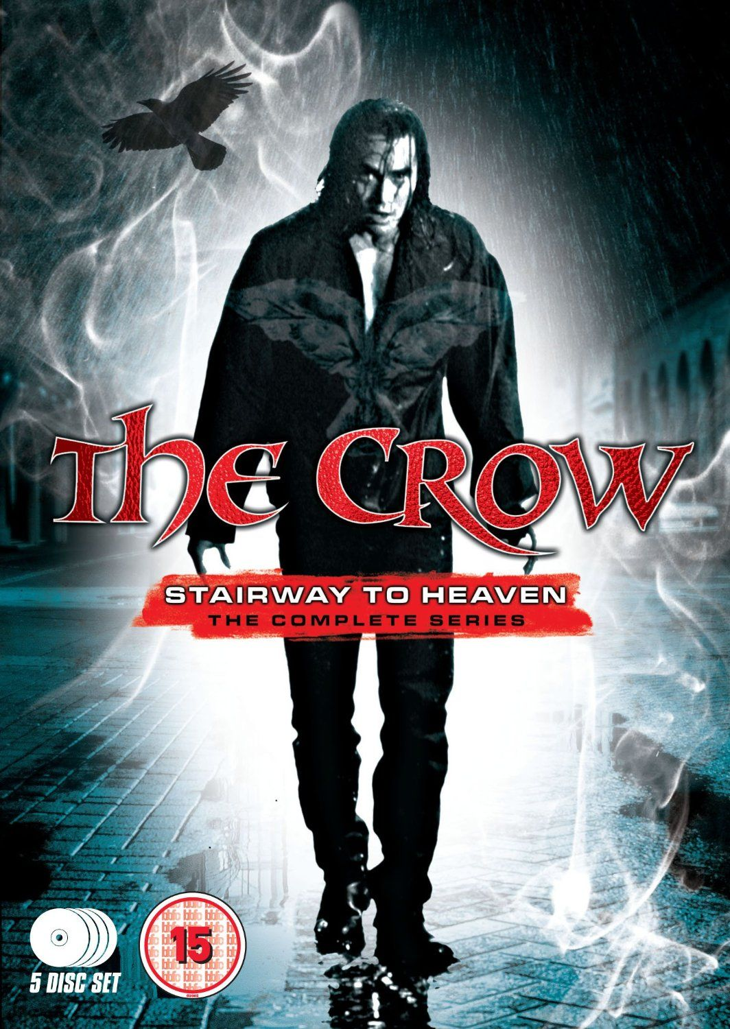 the crow stairway to heaven the complete series 5 dvd