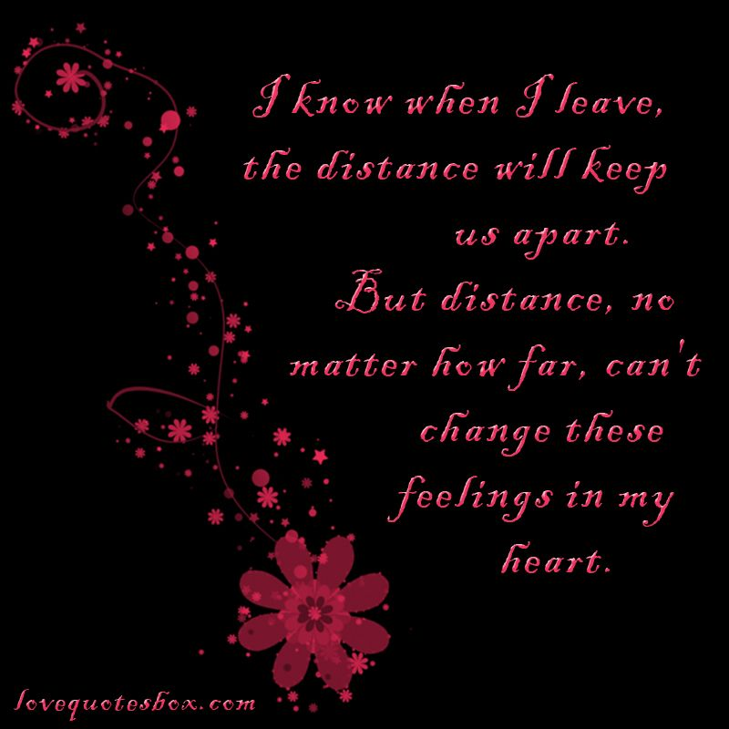 Feelings in My Heart - Love Quotes Box