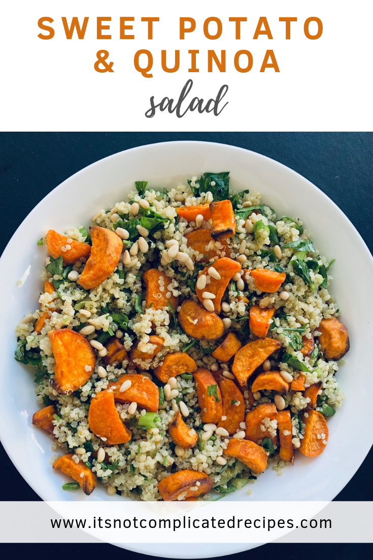 Sweet Potato and Quinoa Salad -  Sweet Potato and Quinoa Salad – It's Not Complicated Recipes
