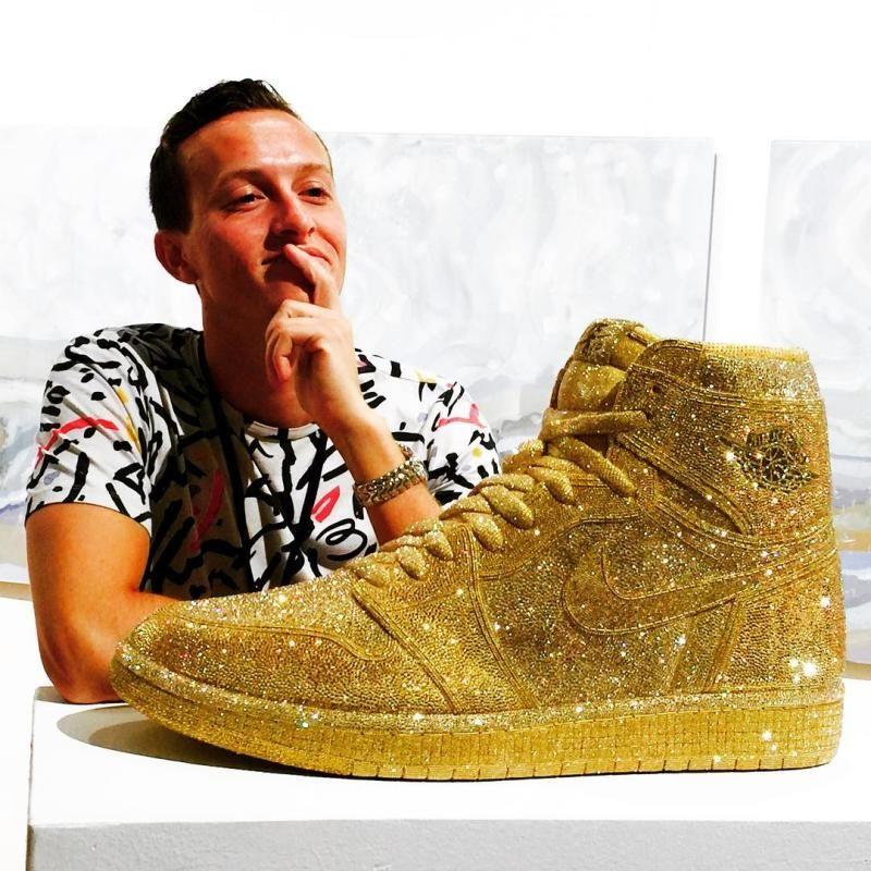 Crystal Air Jordans Daniel Jacob