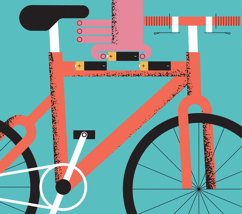 John Devolle Cyclist Electric Bikes Electric bike