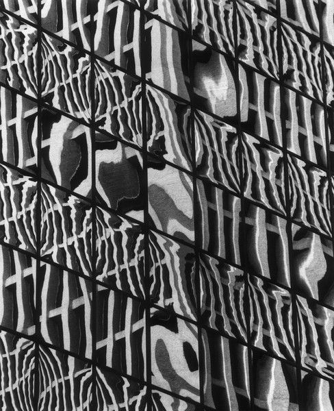 Window Reflections by Brett Weston