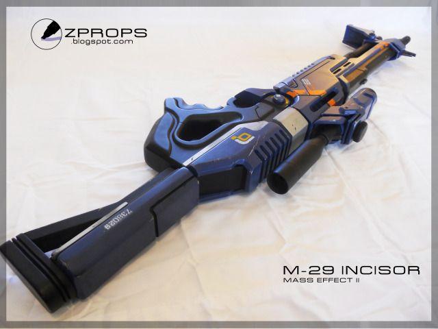 Mass Effect M-29 Incisor by zanderwitaz on DeviantArt