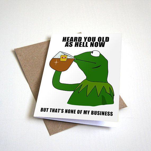 Funny Birthday Card Dank Meme Birthday By