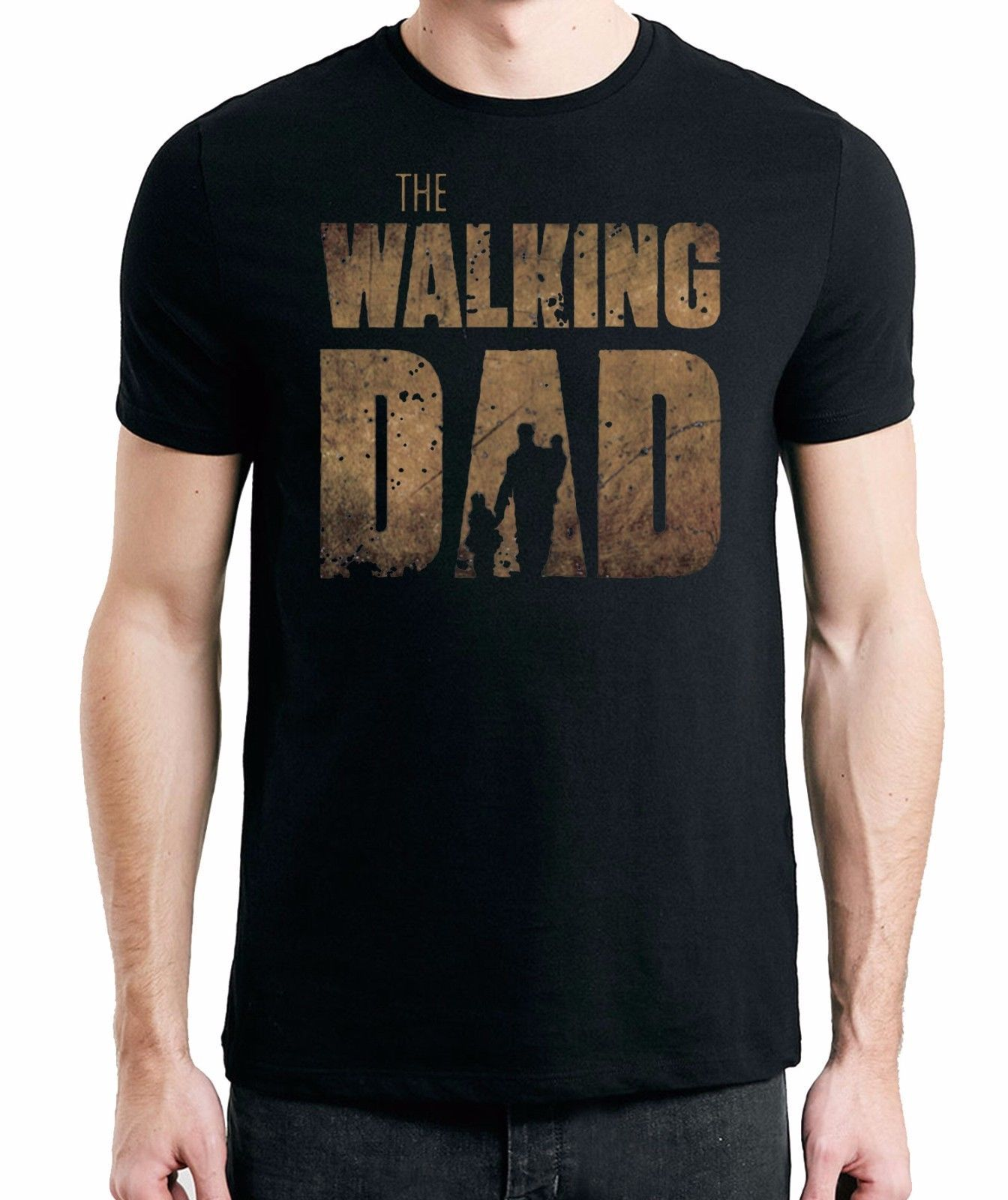 The Walking Dad T Shirt Fathers Day Birthday Present Men S Funny T Shirt Ebay The Walking Dad Funny Dad Shirts Cheer Dad Shirts