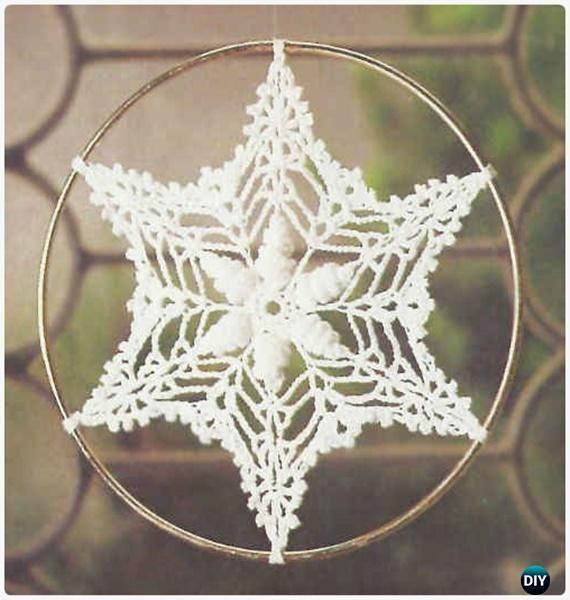 Crochet Shell Suncatcher Free Patterns - Crochet Dream Catcher Free ...