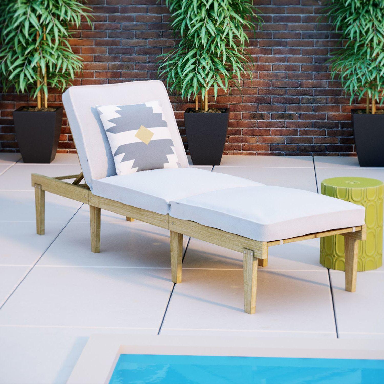 portable lounge chair cushion