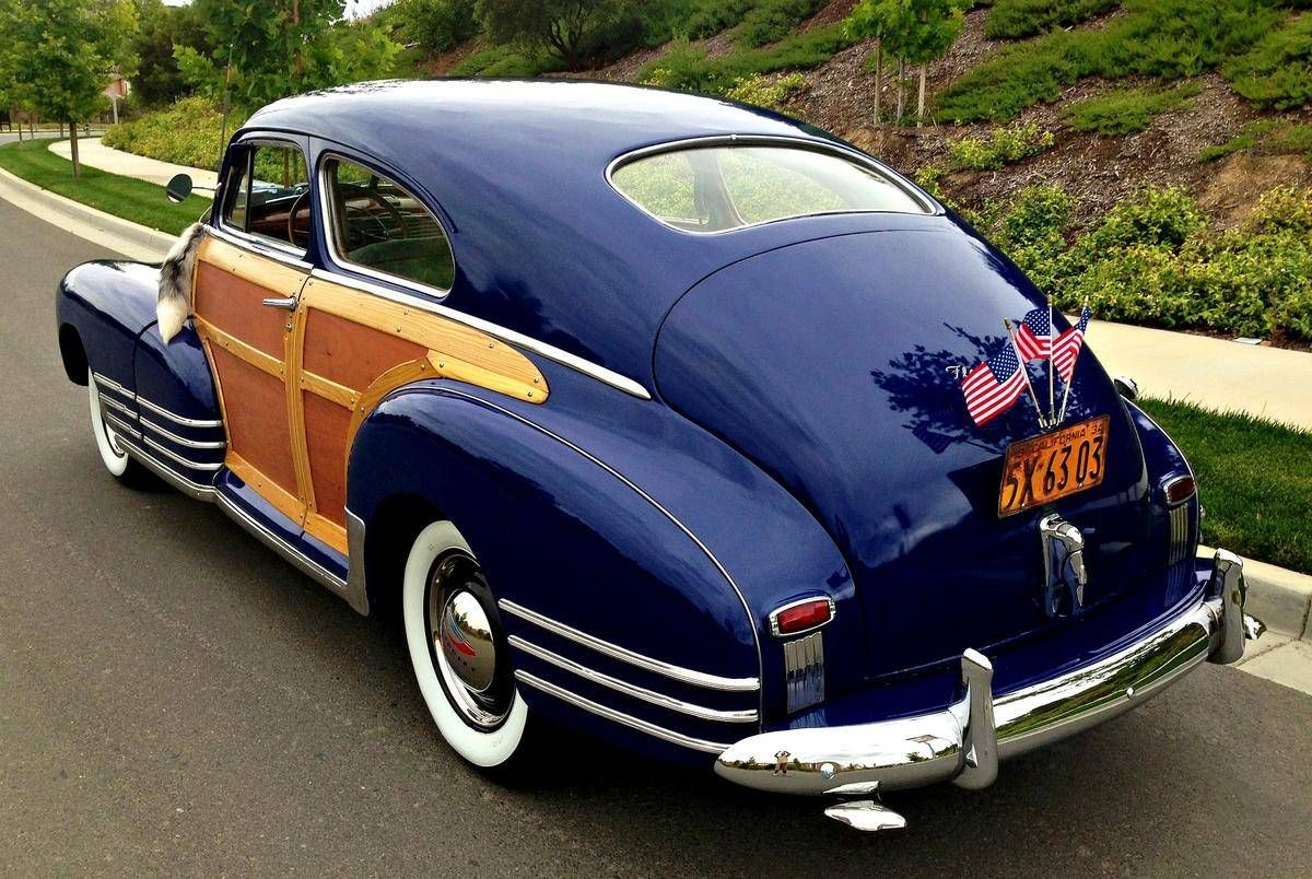 1948 Chevrolet Fleetline Country Club Woody Aerosedan For Sale
