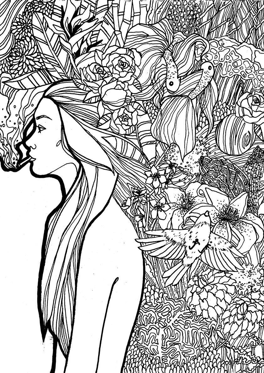 Autora: Carola Sol | Ilustradoras Locas del Coño | Pinterest | Locos ...
