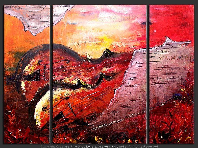 """""""Mozart"""" - Original Music Art by Lena Karpinsky, http://www.artbylena.com/original-painting/20003/mozart.html"""