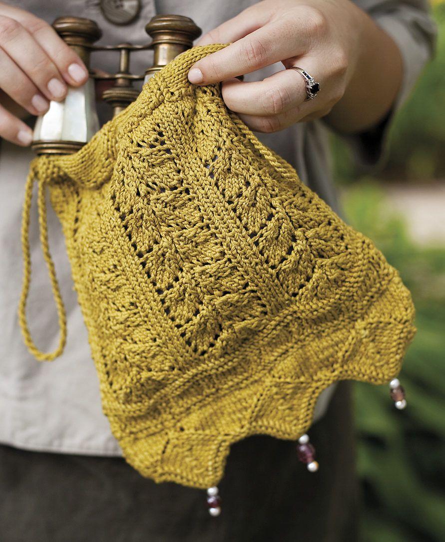 Bitty Bags Knitting Patterns | Regency era, Evening bags and Regency