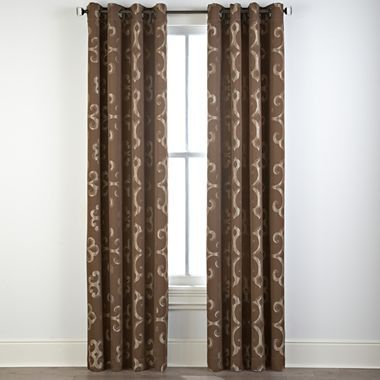 Curtains Cindy Crawford Style Monte Carlo Grommet Top Drapery