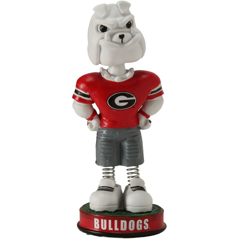 Georgia Bulldogs Springy Legs Mascot Bobblehead