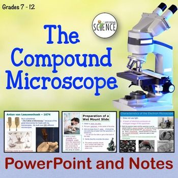 Microscope Powerpoint Teacher, Students and Physics - new periodic table lesson ppt