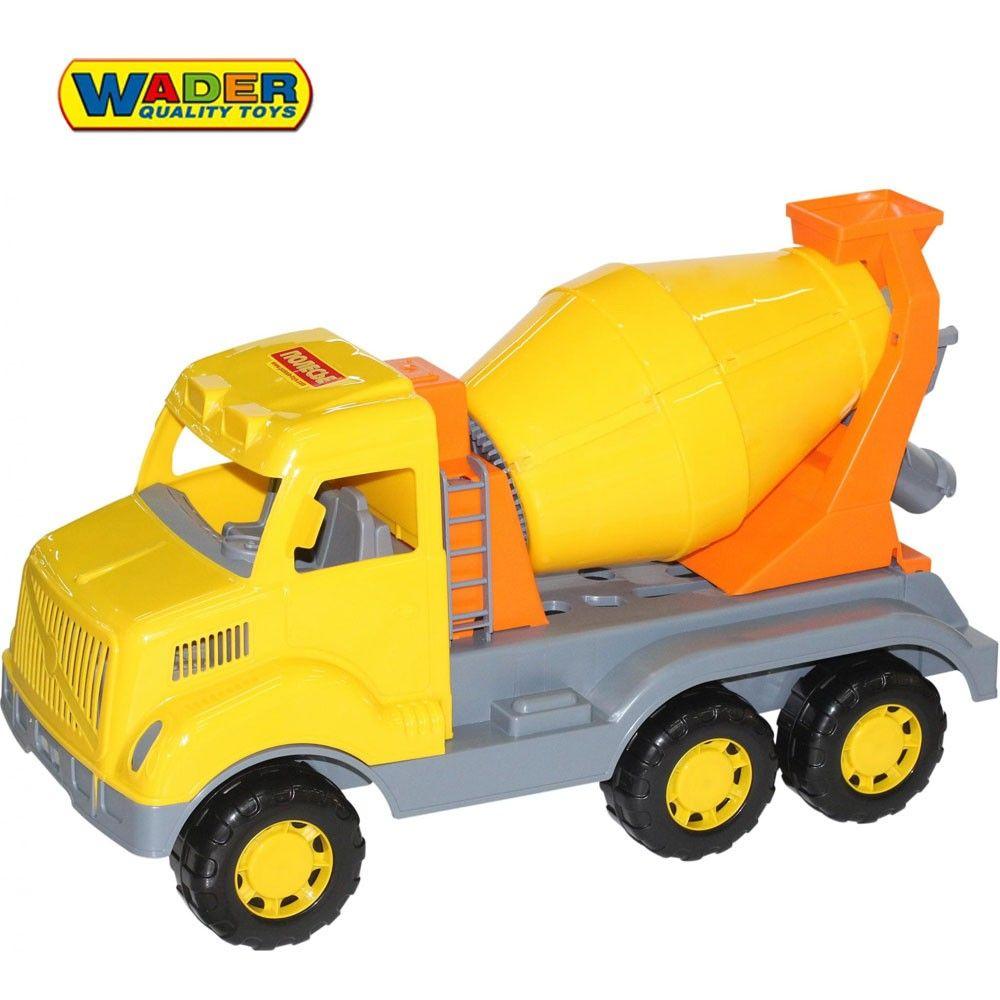 Wader Qt Ogromna Ciezarowka Betoniarka Samochod 59cm Brykacze Pl Internetowy Sklep Z Zabawkami Dla Dzieci Toy Car Toys Kallax
