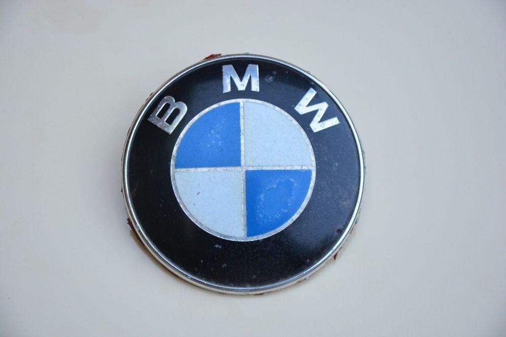 Used Bmw E21 E12 E24 E30 E23 E28 Round Emblem Sign Logo 51 14
