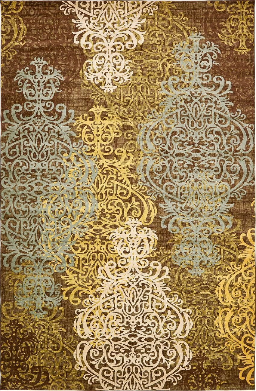 Brown area rug products pinterest products