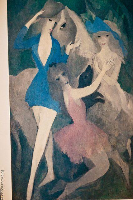 Marie Laurencin Danseuse Espagnole Artiste Francais Et Danseuse