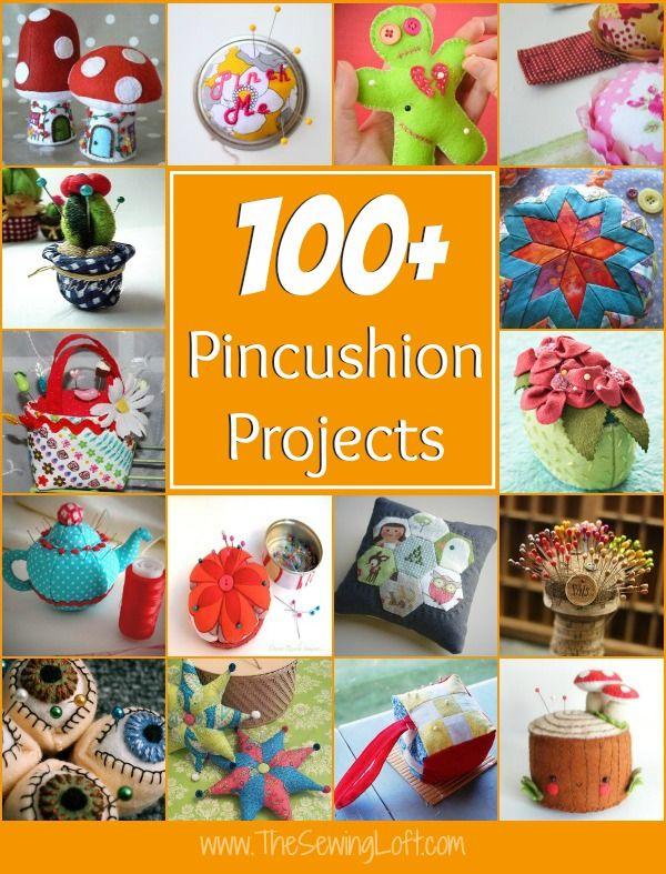 100+ Pincushion Patterns | Nadelkissen, Nadelkissen nähen und ...
