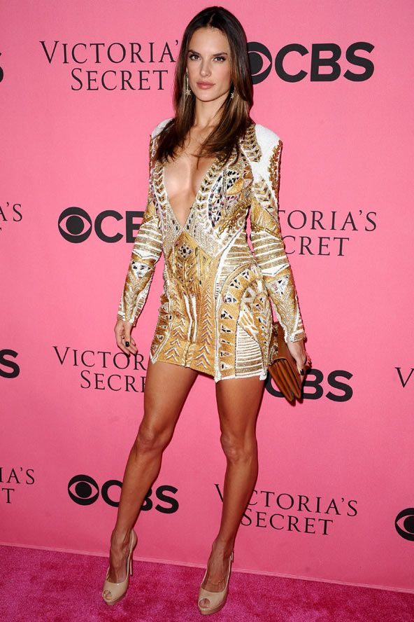 Alessandra Ambrosio same Balmain dress Katy Perry - | Same Dress Who ...