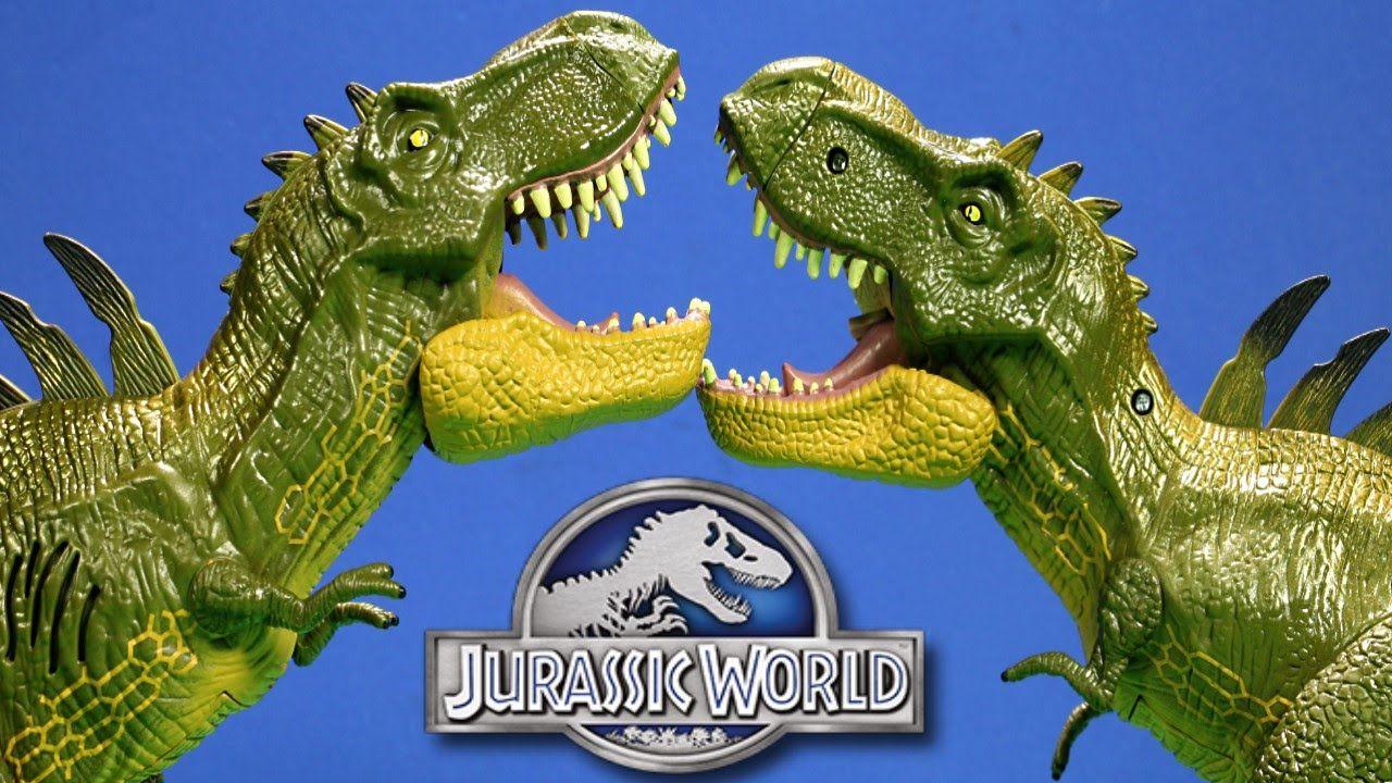 Jurassic World Hybrid TRex vs Hybrid Tyrannosaurus Rex