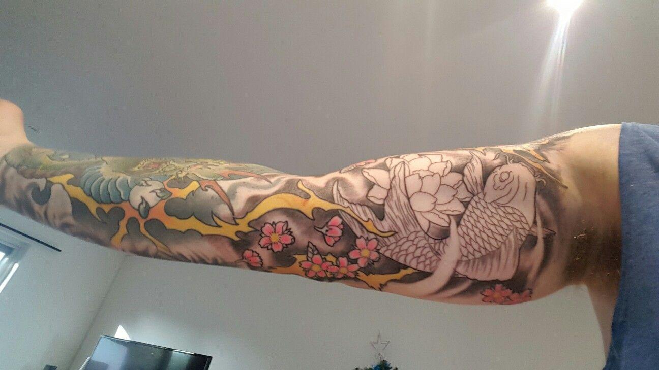 Artist Jimmy At Jimmy Tattoo Windsor Brisbane Australia