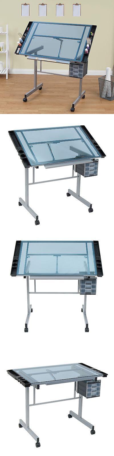 Stationery Hobby Station Artist Drafting Table Glass Art