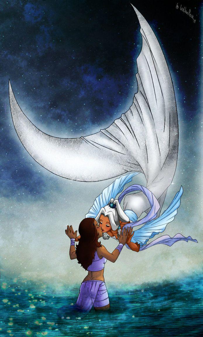 touch_the_moon_spirit_by_lisvanpiece-d3fh9n2.jpg (695×1151)