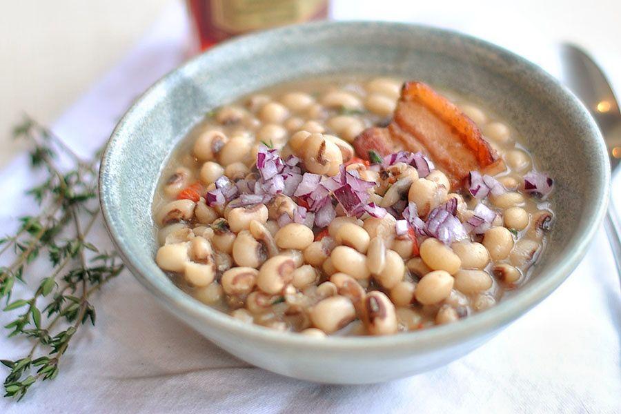 New Year's BlackEyed Peas Recipe Yummy food, Tasty
