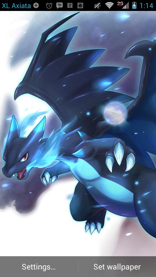 LWP Pokemon X Mega Char \u2013 FREE Anime Live Wallpaper