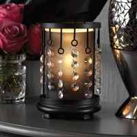 Simmering Light Shade with Bling! Love this for the Simmering ...