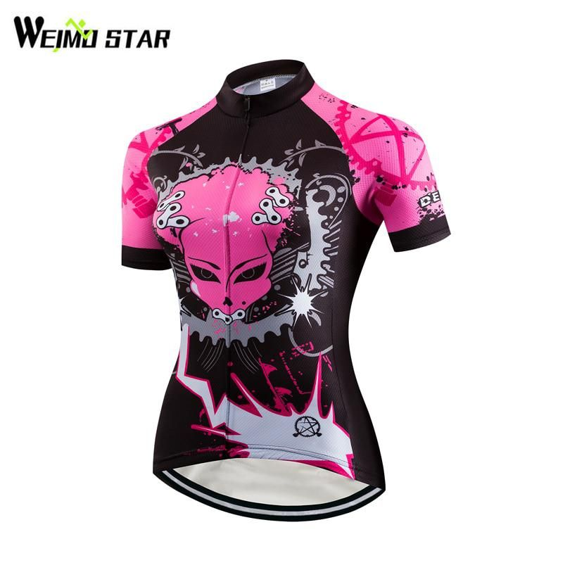 Weimostar Cycling Jersey women roupa ciclismo Bike Jersey road cycling  jersey youth MTB bicycle Clothing Short dfb61588a