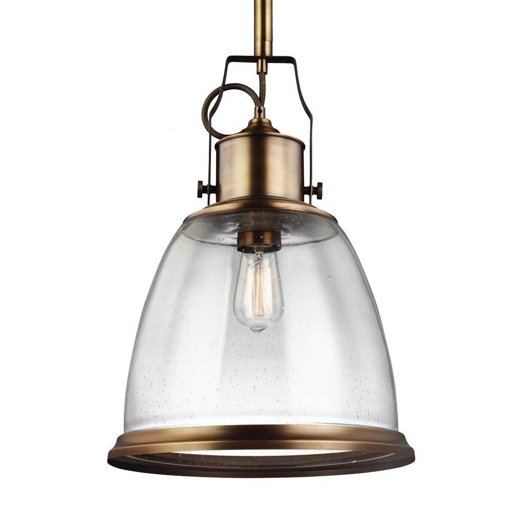 1 - Light Pendant  P1356AGB-LA | Cartwright Lighting  sc 1 st  Pinterest & 1 - Light Pendant : P1356AGB-LA | Cartwright Lighting | kitchen ... azcodes.com