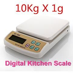 20 Off 10kg X 1g Digital Postal Kitchen Counting Weighing Scale