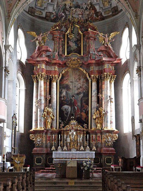 St Martin S Church Garmisch Partenkirchen Germany Bavaria