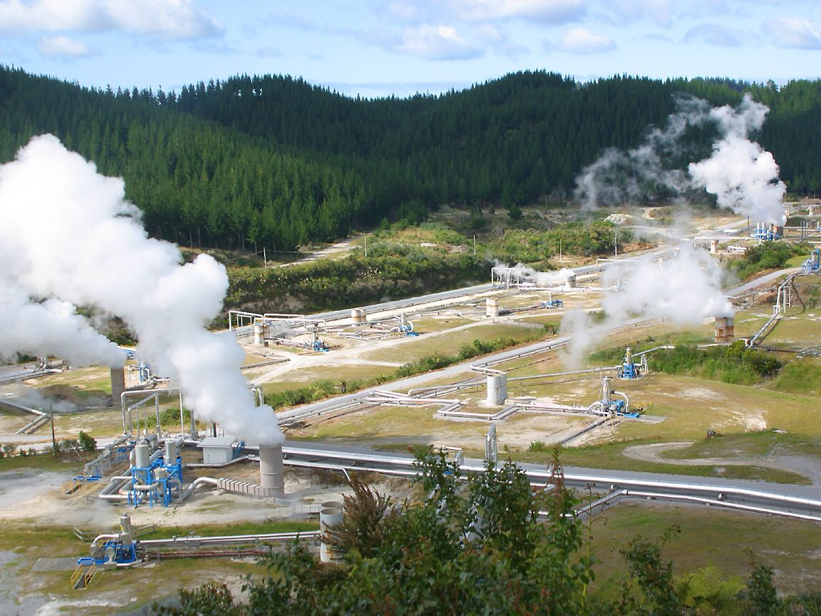 A Geothermal Power Plant In New Zealand Pinterest Layout Diagram