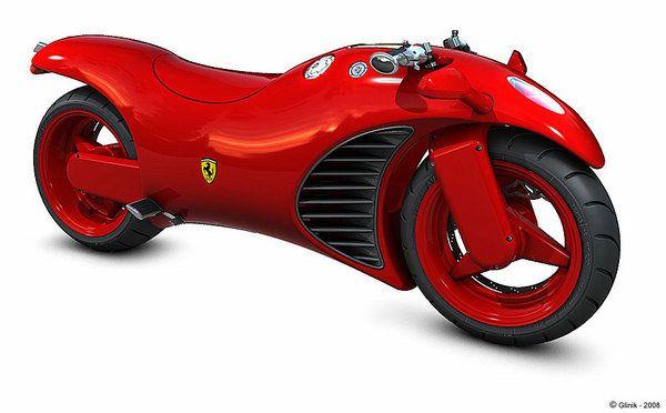 Ferrari V4 Motorcycle Concept News | Ferrari