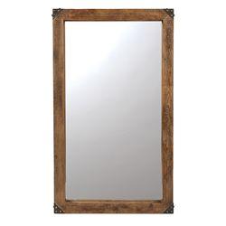 Jaden 60 Inch Wooden Wall Mirror Home Wooden Walls